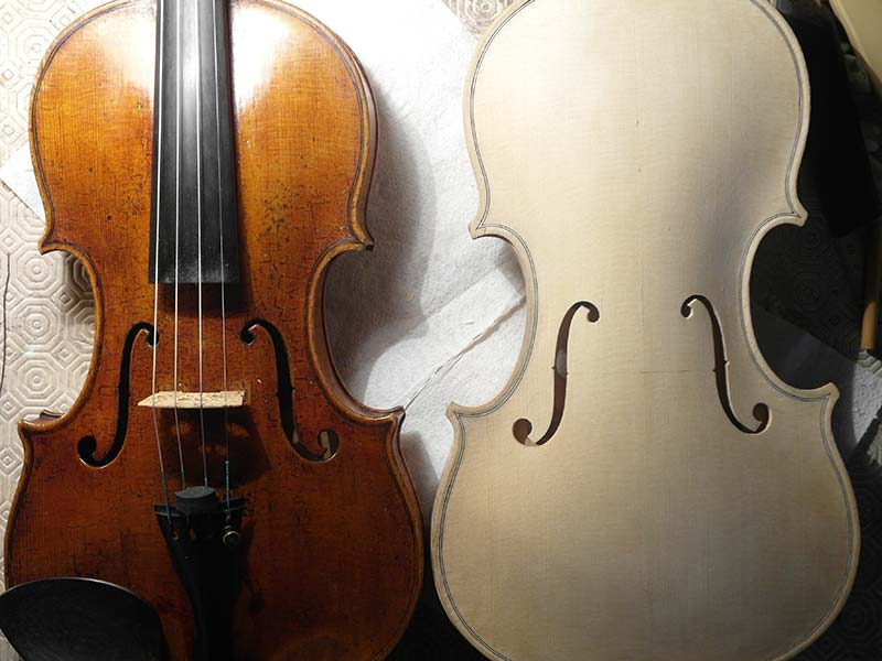 copie en cour de violon